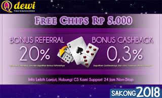 Bonus Saldo Judi Poker Online QDewi.net