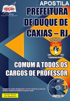 apostila SME de Duque de Caxias para o cargo de Professor