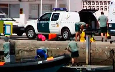 Localizan muerto al bebé que llegó a Gran Canaria en patera