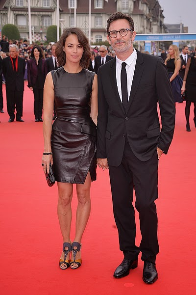 Berenice Bejo and Michel Hazanavichus