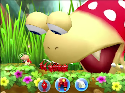 Bulborb boss Pikmin 3DS
