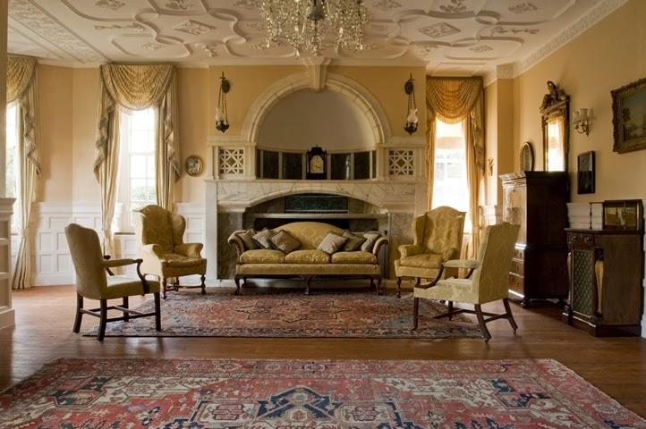 Victorian home interior paint color ideas for Arredamento case di lusso interior design