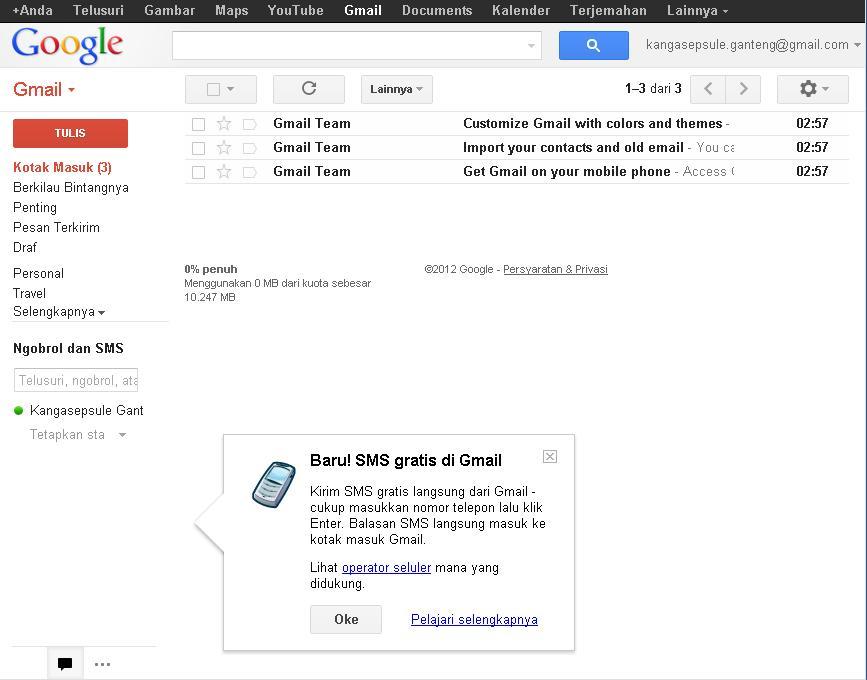 Cara Daftar Buat Akun Baru Email Gmail Yahoo Dan Facebook ...