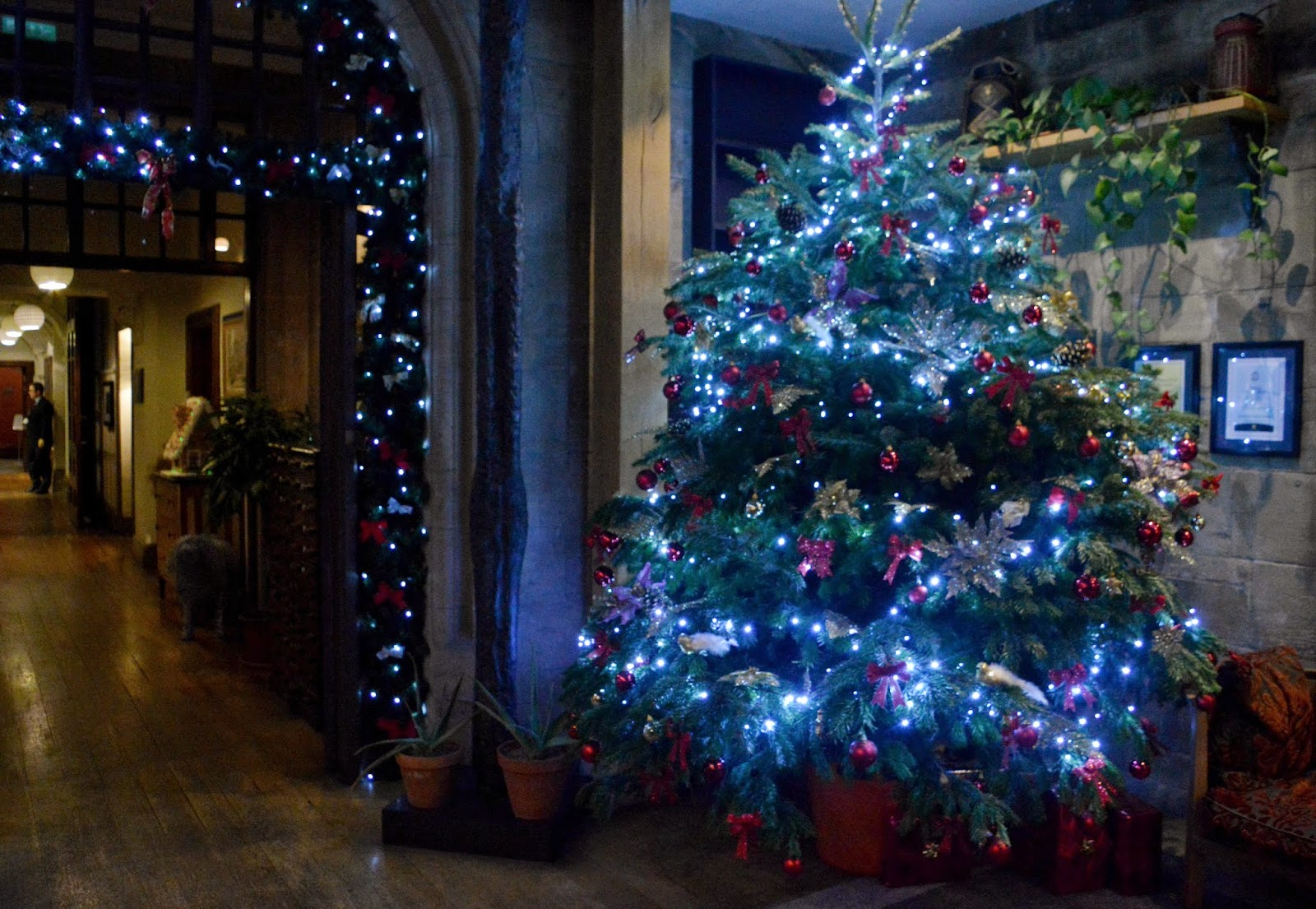 Christmas at Jesmond Dene House |  New Girl in Toon