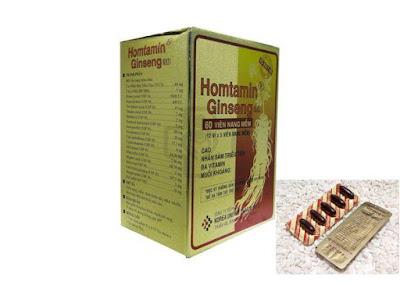 Thuốc bổ Homtamin ginseng Hàn Quốc