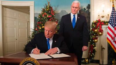 Inilah kekuatan Evangelis dibalik Trump soal Yerusalem dan mulainya perang Armageddon