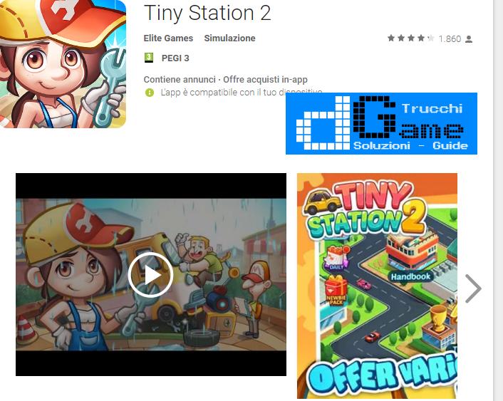 Trucchi Tiny Station 2 Mod Apk Android v1.0.7