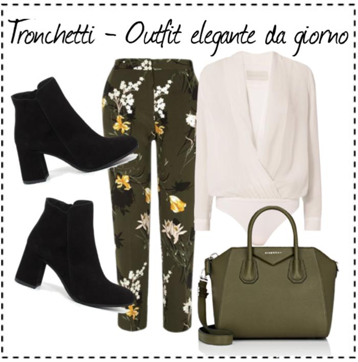 outfit con tronchetti