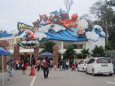 Trip ke Melaka Wonderland