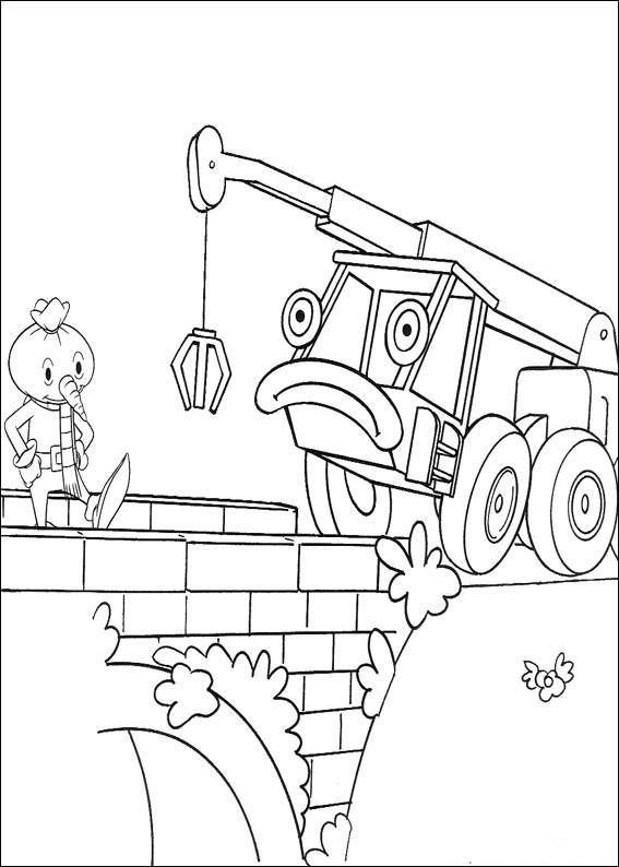 Minnie Mouse Kleurplaat Printen Print Coloring Bob The Builder