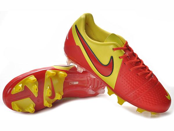 online store 071fe 5e12e NIKE CTR360 MAESTRI III FG chaussures de football Terrain Sec pour homme  Jaune Rouge-Chaussures de Football Nike Mercurial Vapor Superfly Ⅲ,Adidas  F50.