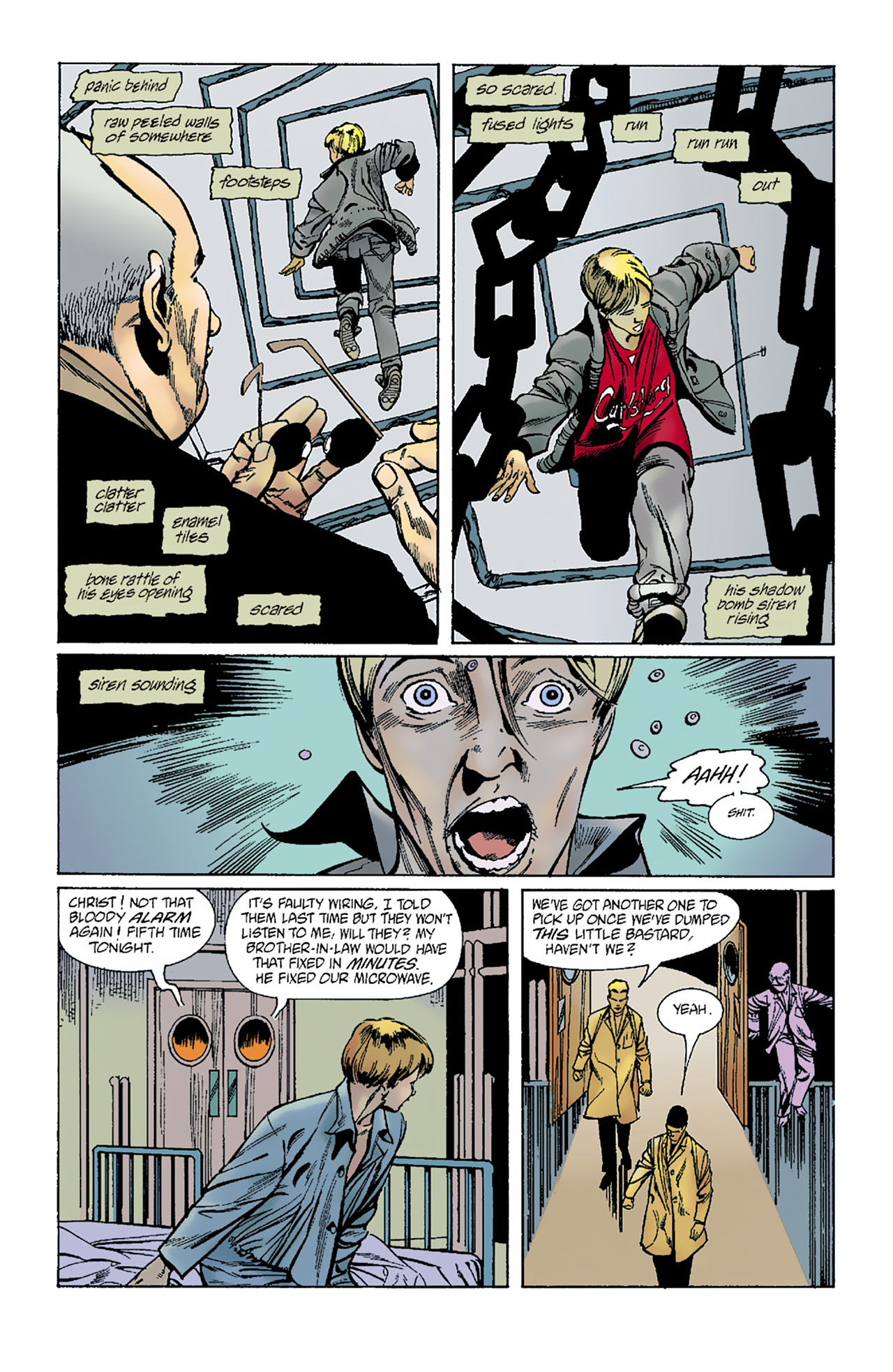 The Invisibles (1994) 1 Page 30
