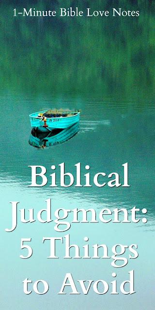 Appropriate Biblical Judgment, Judge Biblically, Matthew 7:1-4