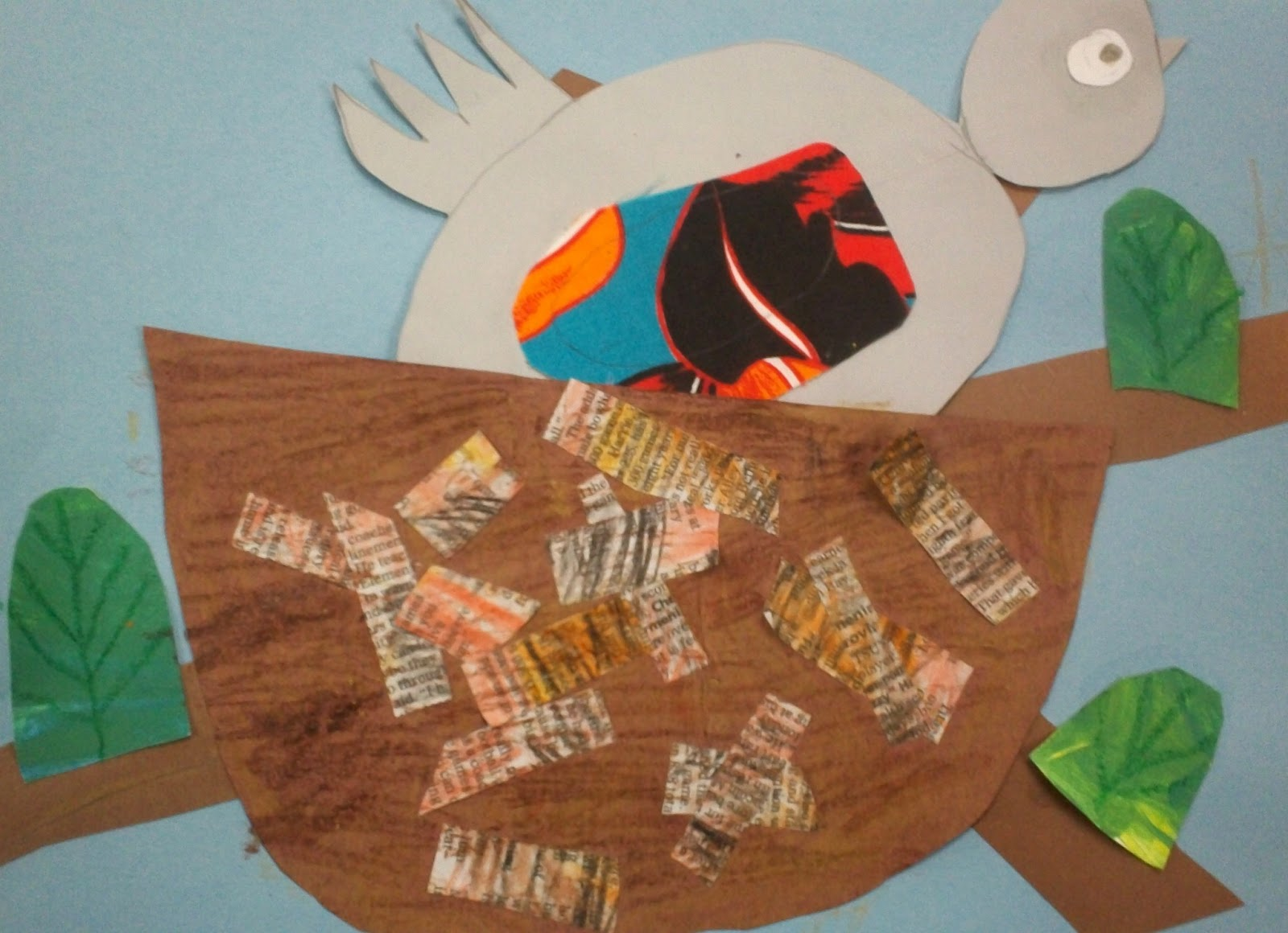 Art With Mr E Mixed Media Bird Nests 1st Grade