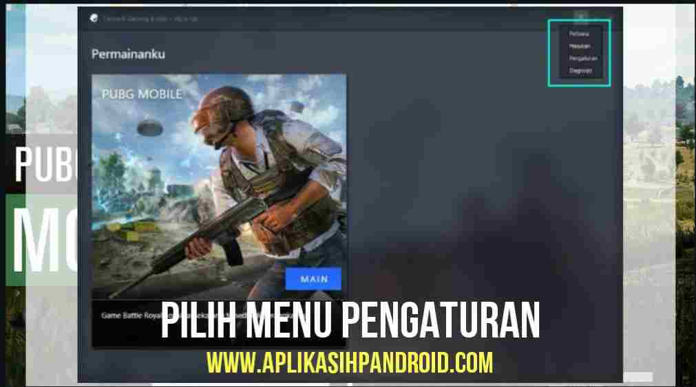 Cara Konfigurasi Game PUBG Mobile via PC pada Emulator 1