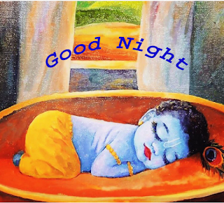Good Night with Lord Krishna