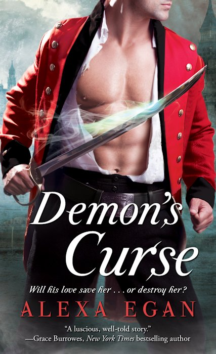 Interview with Alexa Egan, author of Demon's Curse, and Giveaway - December 19, 2012