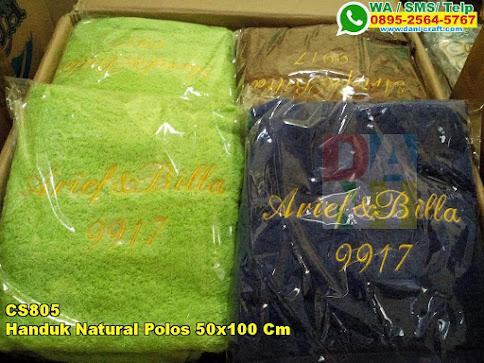 Toko Handuk Natural Polos 50x100 Cm