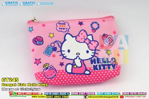 Dompet Koin Hello Kitty