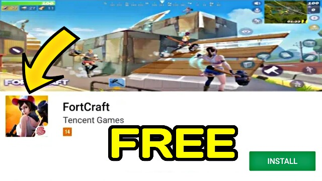 FINALLY!! HOW TO DOWNLOAD AND PLAY FORTCRAFT IN ANY MOBILE FORTNITE?? (Android/IOS)