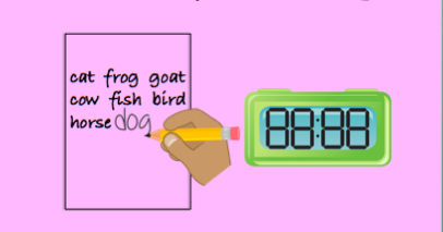 New Product: Writing Fluency Timings