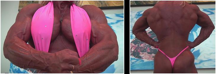 Talk Live with Female Bodybuilder Musclebound Michelle