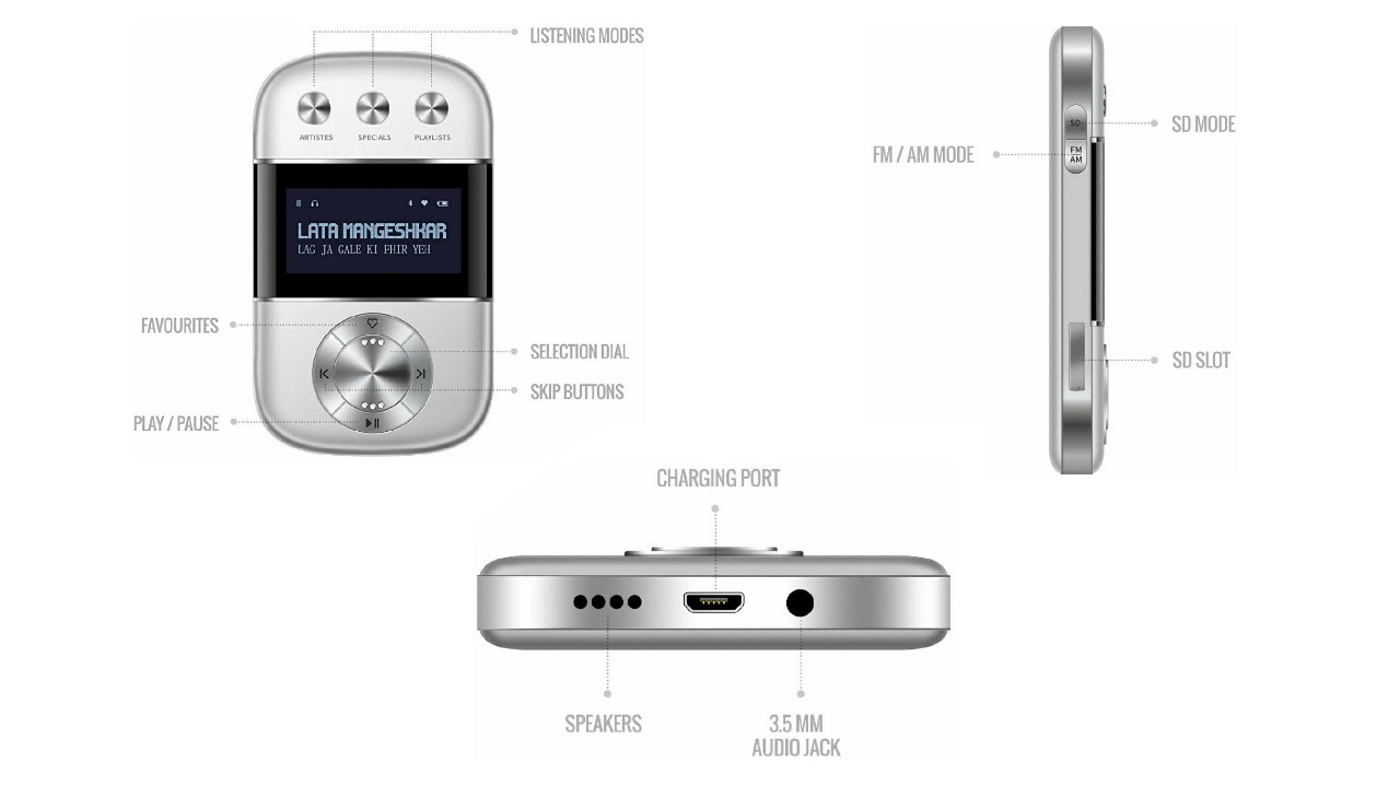 Saregama Carvaan Go portable music player launched in India