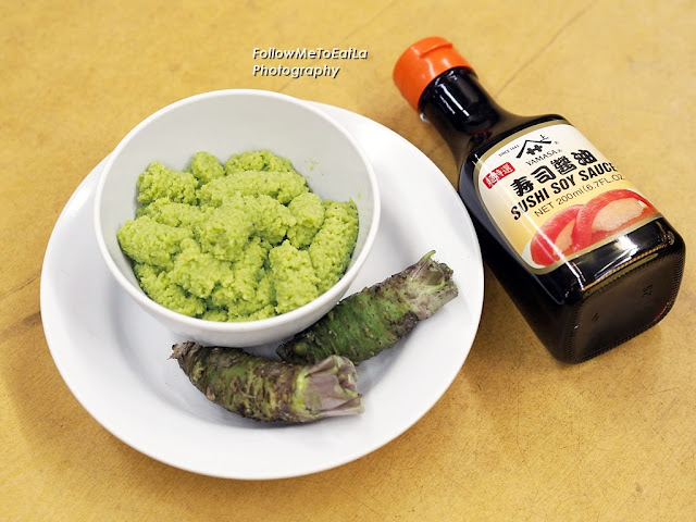 Best Eaten With This Duo Of Fresh Wasabi & Japanese Soya Sauce
