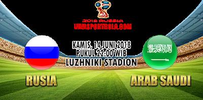 Prediksi Bola Rusia vs Saudi Arabia 14 Juni 2018