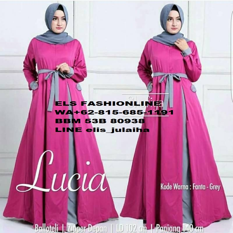 Dress Cantik Jual Grosir Ecer Dress Blouse Elegant Remaja Dewasa