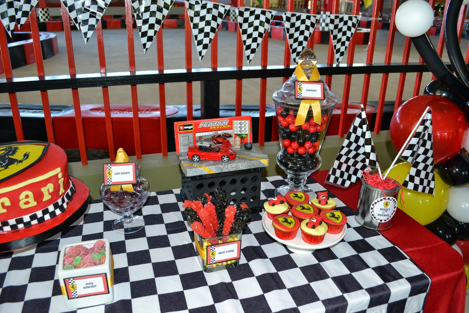 Partylicious Events Pr Ferrari Birthday