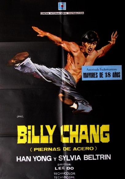 Billy Chang (Piernas de acero) (1974)