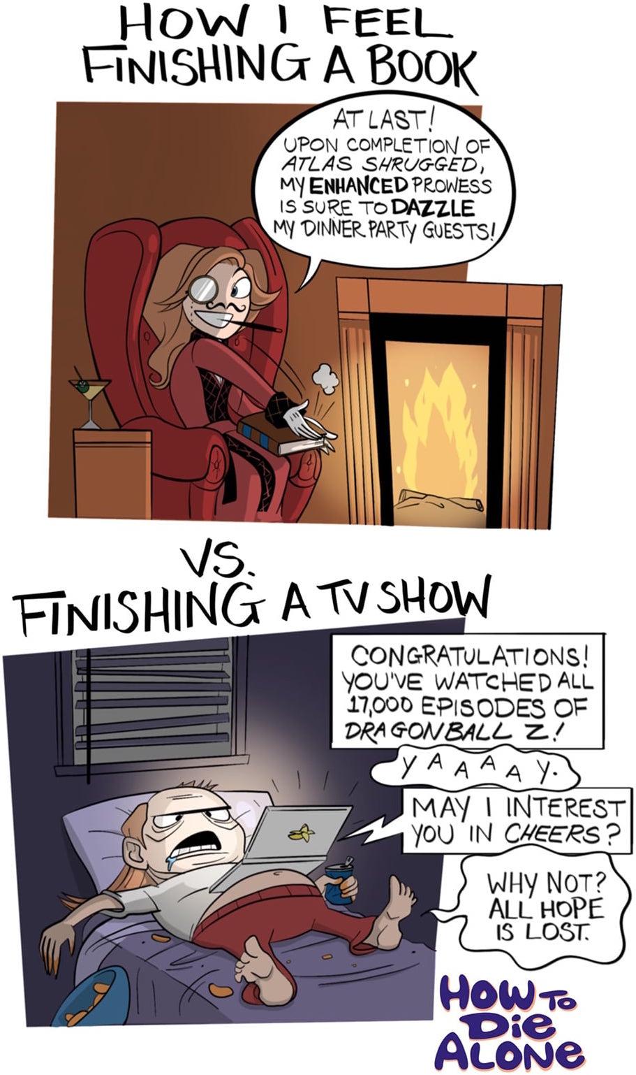 Book Vs TV Show