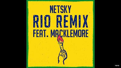 Netsky - Rio Remix ( Audio )ft. Macklemore , Digital Farm Animals