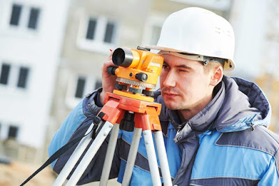A New York City Land Surveyor on a Construction Job