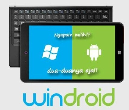 Review Axioo Windroid 8g, 2 Os Dalam 1 Tablet