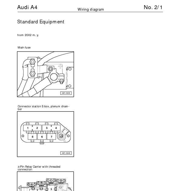 99 audi wiring diagram: the audi a4 complete wiring diagrams