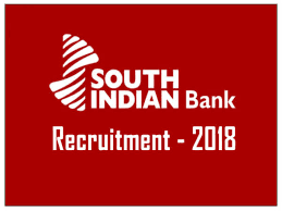 south indian bank po recruitment 2018 apply online