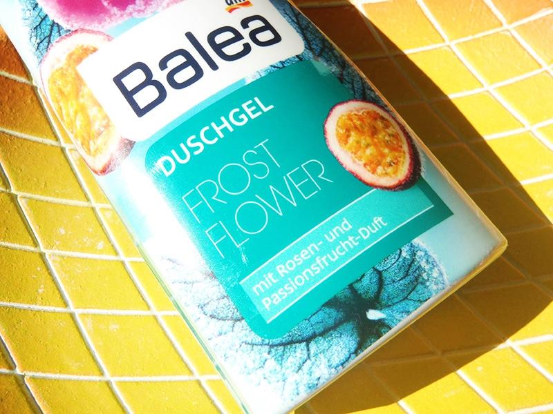 żel pod prysznic Balea, Balea róża i marakuja