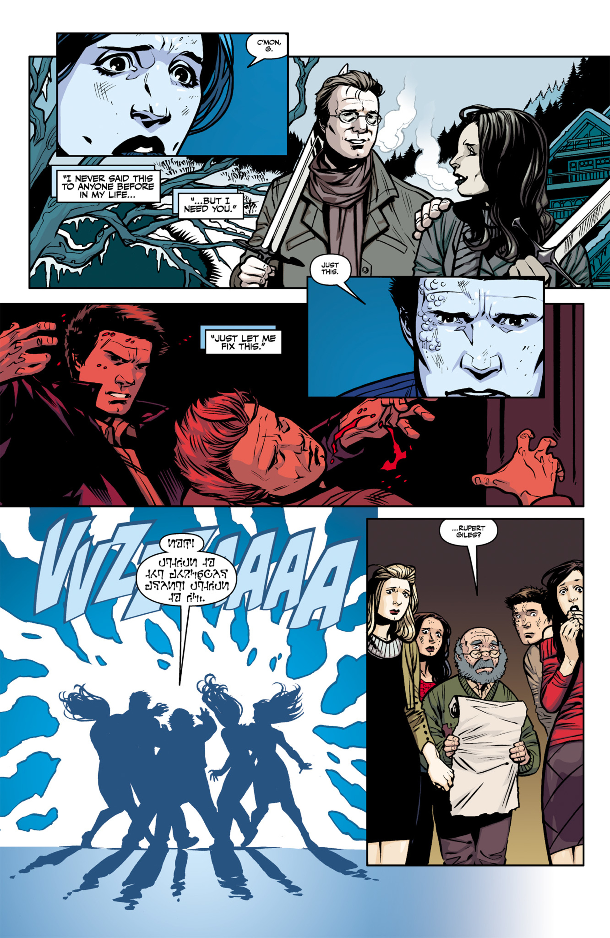 Read online Angel and Faith comic -  Issue #22 - 6