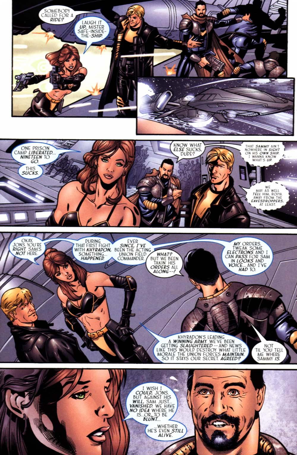 Read online Sigil (2000) comic -  Issue #19 - 15