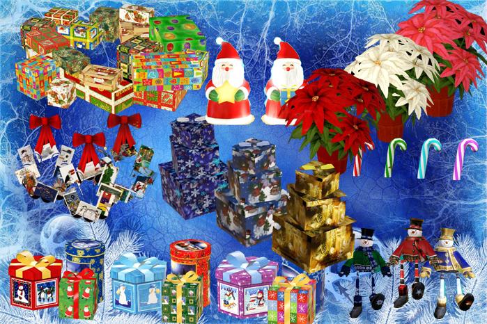 Christmas Decor Sims 3 : Ladesire s creative corner ts christmas decor by