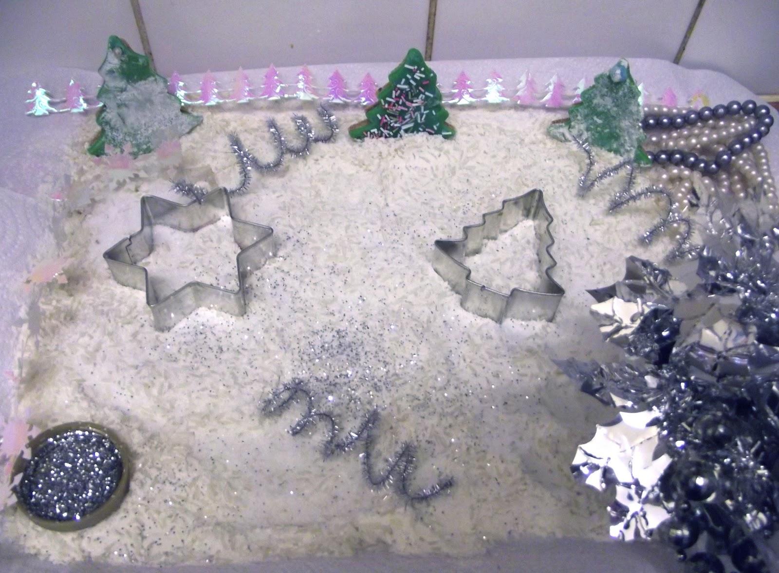 Creative Playhouse Winter Wonderland Sensory Tray