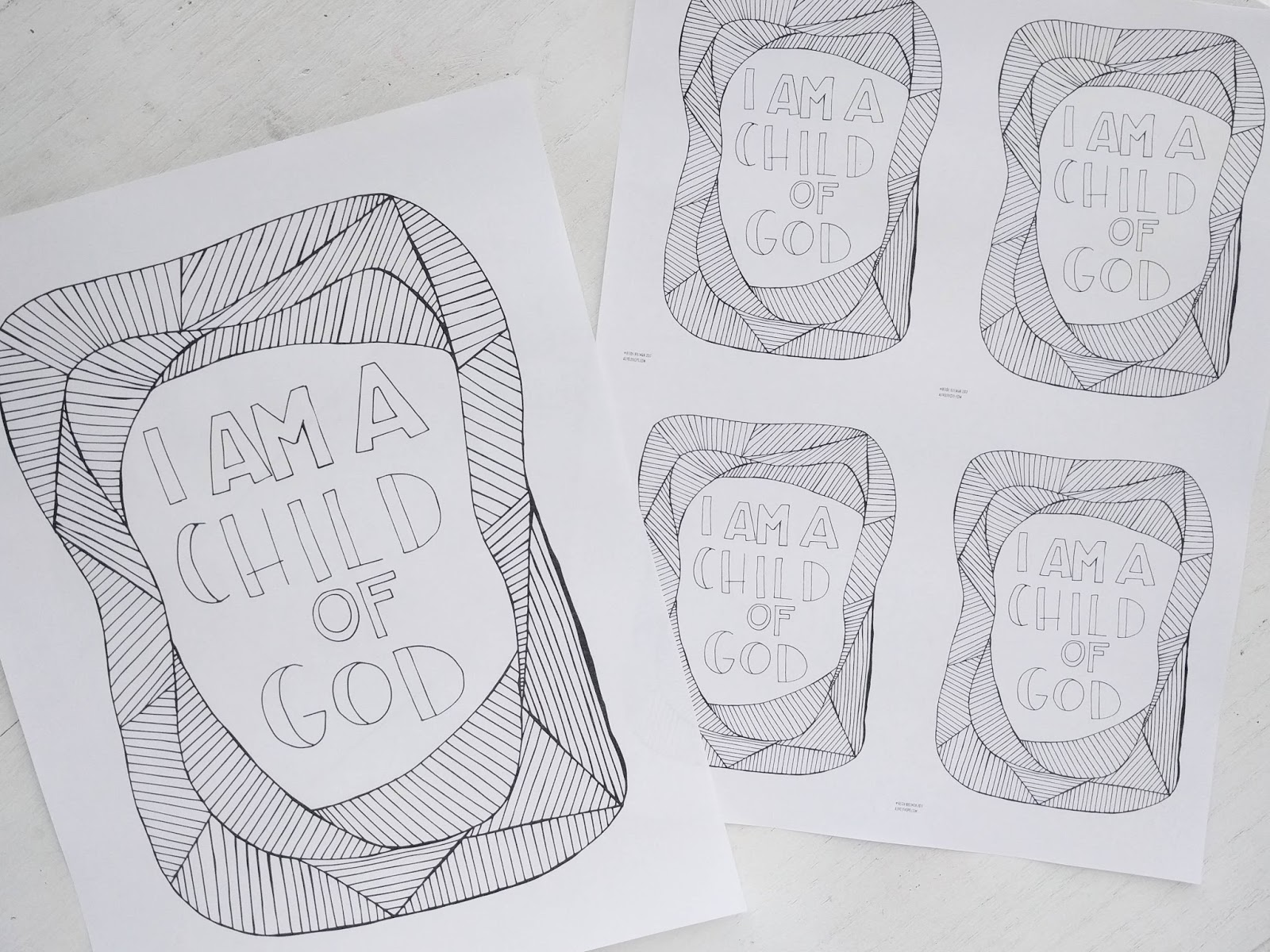 A Lively Hope: 2018 LDS Youth and Primary Theme Coloring Pages