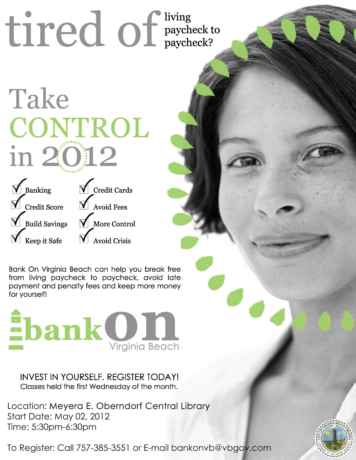 Bank On Hampton Roads New Class At Central Library