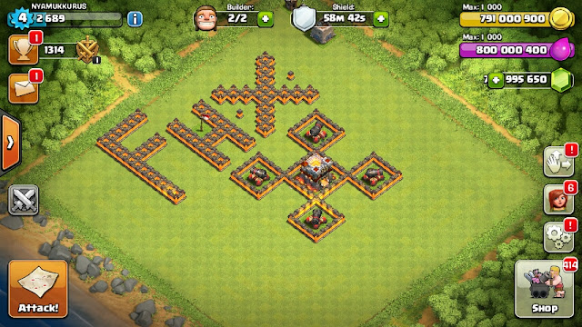 FHx Clash Of Clans Town Hall (TH) 11