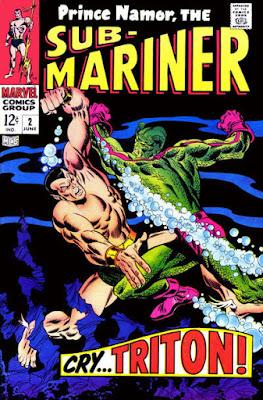 Sub-Mariner #2, Triton