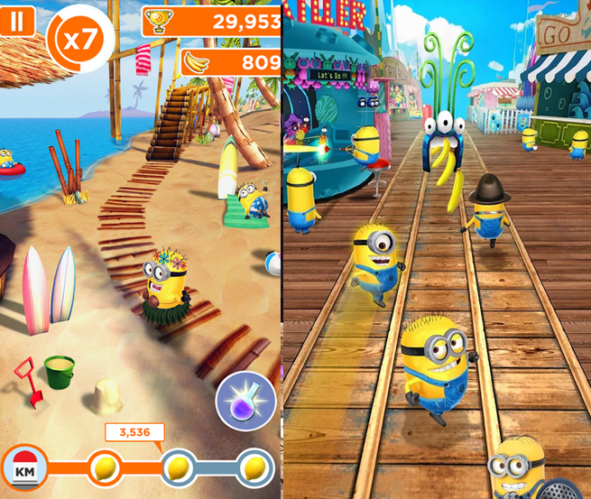 Hack Despicable Me Minion Rush Mod Apk