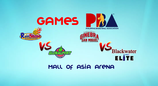 List of PBA Games: January 12 at MOA Arena 2017-2018 PBA Philippine Cup