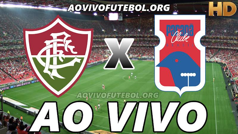 Fluminense x Paraná Ao Vivo na TV HD